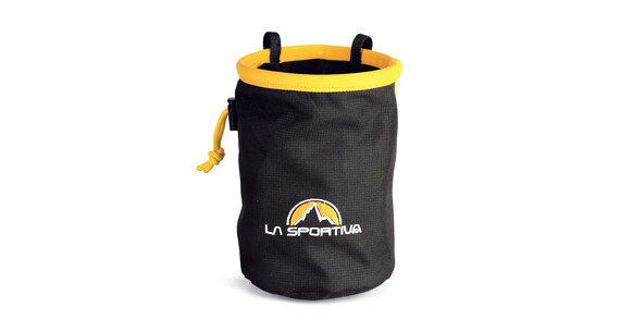 La Sportiva Chalk Bag Chalkbag gul/sort